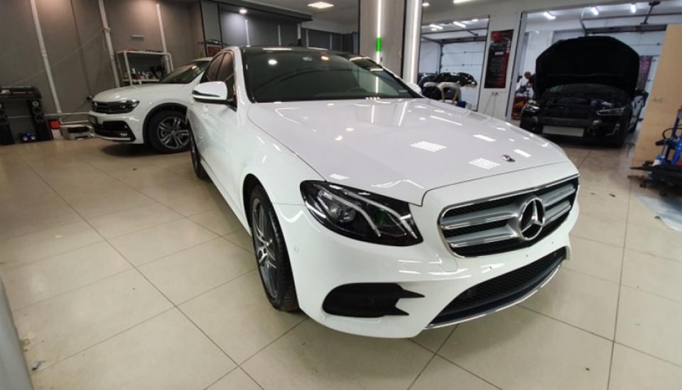 Mercedes-Benz полировка + керамика