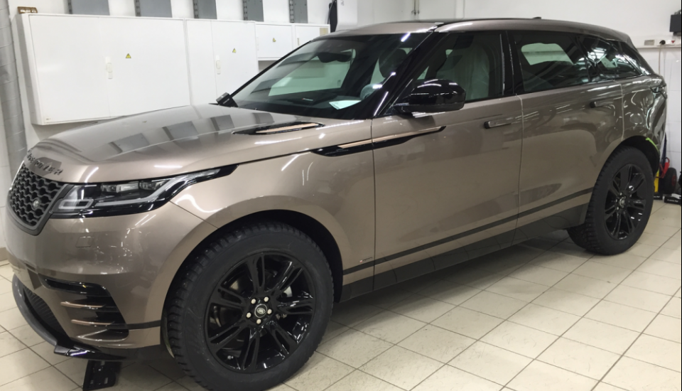 Range Rover полировка + Ceramic Pro 9H
