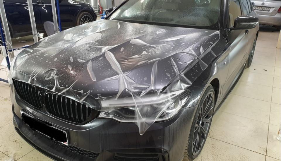 BMW Прозрачный полиуретан