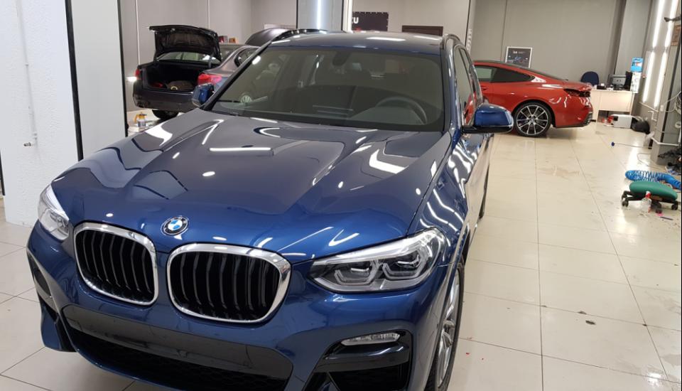 BMW X3 антигравийная пленка