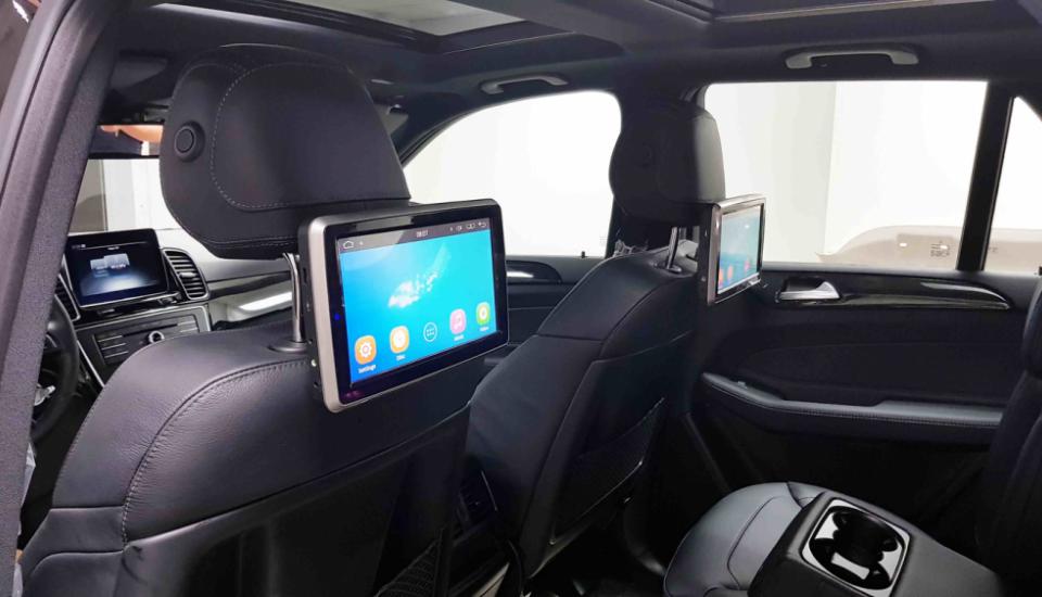 Mercedes GLE Мониторы для задних пассажиров