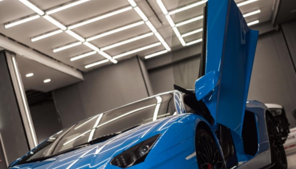 Lamborghini Aventador S - защитная пленка + керамика